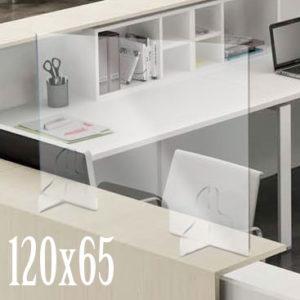 plexiglass parafiato negozio 120x65