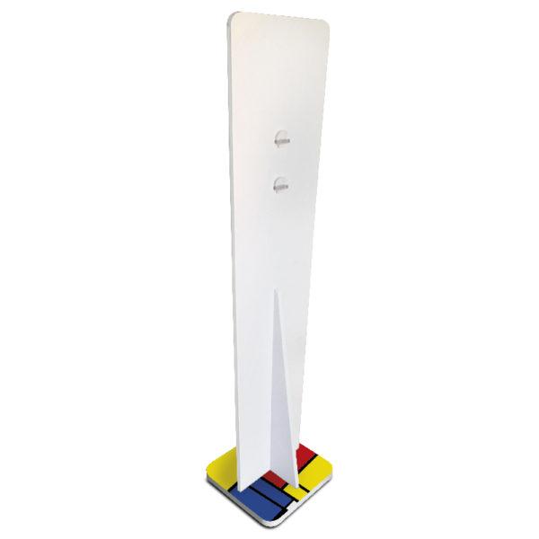 dispenser igienizzante da terra Slim mondrian